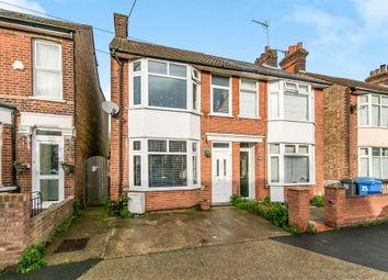 Thumbnail 3 bedroom semi-detached house for sale in Stradbroke Road, Ipswich