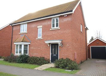 Thumbnail 4 bed detached house for sale in Plummers Dell, Great Blakenham, Ipswich, Suffolk