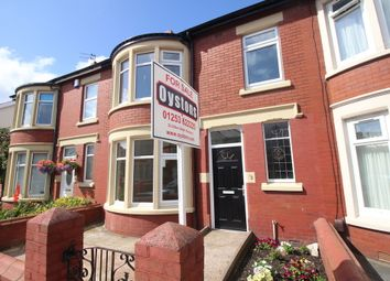 Thumbnail 3 bed terraced house for sale in Dorchester Road, Blackpool