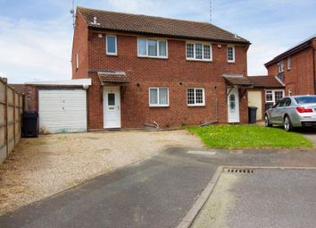 Thumbnail 3 bed semi-detached house for sale in Miller Close, Leicester