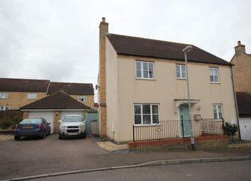 Thumbnail 4 bed detached house for sale in Darwin Close, Ely