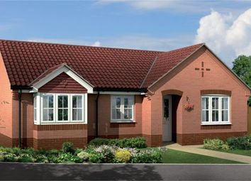 Thumbnail 3 bed detached bungalow for sale in Plot 5, The Larches, Eakring Road, Bilsthorpe, Nottinghamshire