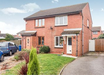 Thumbnail 2 bed semi-detached house for sale in Cranleigh Way, Lichfield