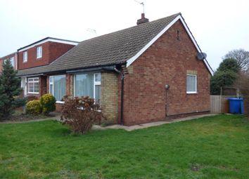 Thumbnail 2 bedroom semi-detached bungalow to rent in Galfrid Road, Bilton, Hull