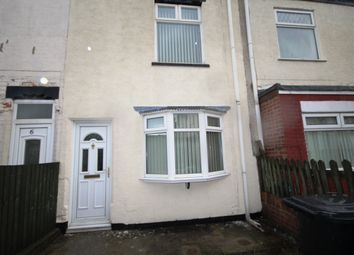 Thumbnail 3 bedroom terraced house to rent in Irenes Avenue, Hull