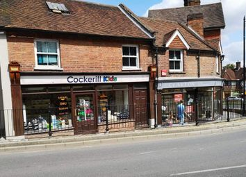 Thumbnail Retail premises for sale in 7-9 High Street, Haslemere