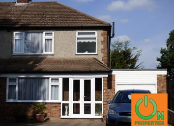 Thumbnail 3 bed semi-detached house for sale in Pettits Boulevard, Romford