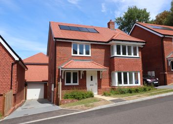 Thumbnail 4 bed detached house for sale in Breach Lane, Bishopstoke, Eastleigh