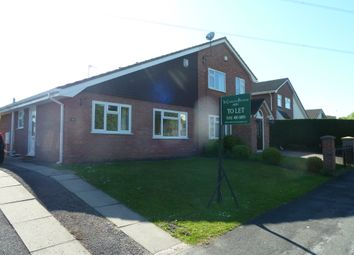Thumbnail 2 bed semi-detached bungalow to rent in Shearwater Road, Stockport