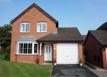 Thumbnail 3 bed detached house for sale in Cabin Lane, Oswestry