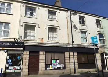 Thumbnail Terraced house for sale in Former Premises Of Natwest Bank, 45 Fore Street, Callington, Cornwall