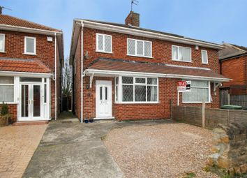 Thumbnail 3 bed semi-detached house for sale in Warwick Avenue, Beeston, Nottingham