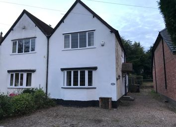 Thumbnail 3 bed semi-detached house to rent in Foley Road West, Sutton Coldfield