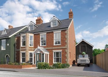 Thumbnail 5 bed semi-detached house for sale in Western Road, Lymington