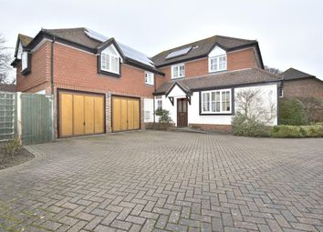 Thumbnail 5 bed detached house for sale in West Meads, Horley