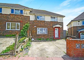 Thumbnail 4 bed semi-detached house for sale in Manor Hill, Brighton