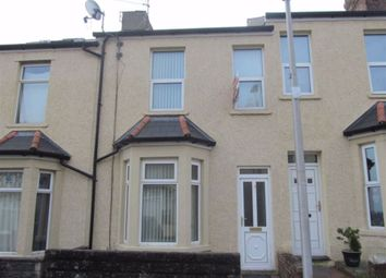 Thumbnail 3 bedroom terraced house to rent in Coigne Terrace, Barry, Vale Of Glamorgan