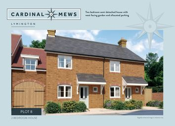 Thumbnail 2 bed property for sale in Cardinal Mews, Lymington