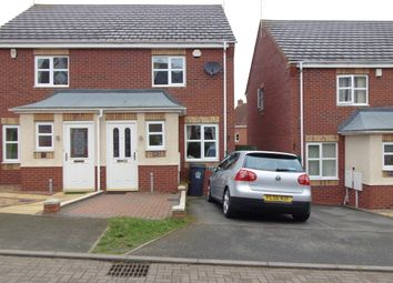 Thumbnail 2 bedroom semi-detached house to rent in Attlebridge Close, Hamilton, Leicester, Leicestershire
