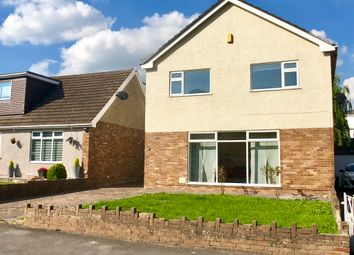 Thumbnail 4 bed detached house to rent in Park Court Road, Bridgend