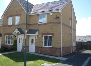 Thumbnail 2 bed end terrace house to rent in St Ives Gardens, Leadgate