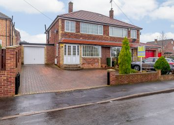 Thumbnail 3 bed semi-detached house for sale in Roehampton Rise, Doncaster