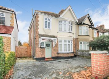 Thumbnail 3 bed semi-detached house for sale in Upper Brentwood Road, Gidea Park, Romford