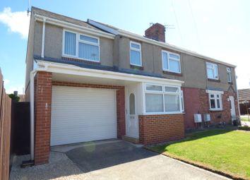 Thumbnail 4 bed semi-detached house to rent in Burnside, Bedlington