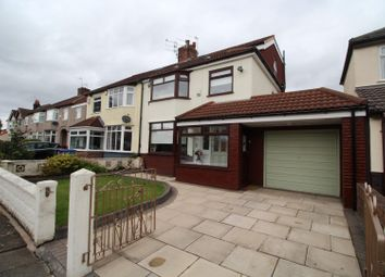 Thumbnail 4 bed semi-detached house for sale in South Mossley Hill Road, Garston, Liverpool