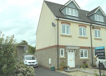 Thumbnail 3 bed town house for sale in Ffordd Cambria, Swansea