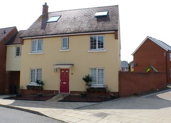 Thumbnail 5 bed link-detached house to rent in Baker Way, Witham