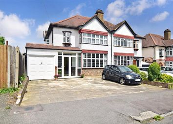 Thumbnail 3 bed semi-detached house for sale in Midholm Road, Shirley, Croydon, Surrey