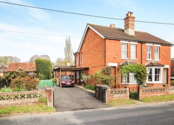 Thumbnail 2 bed semi-detached house for sale in Charlton, Andover