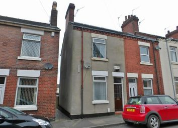 Thumbnail 3 bed end terrace house for sale in Nelson Street, Newcastle, Staffordshire
