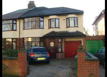 Thumbnail 3 bed semi-detached house to rent in Rosslyn Avenue, Liverpool