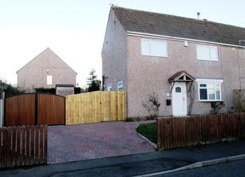 Thumbnail 3 bed semi-detached house for sale in Portland Road, Throckley, Newcastle Upon Tyne