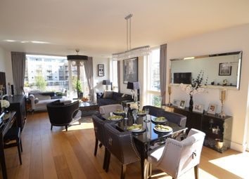 Thumbnail 3 bed flat to rent in Durham Wharf Drive, Brentford