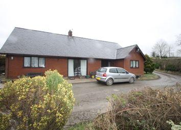 Thumbnail 3 bed detached bungalow for sale in Llansantffraid, Powys
