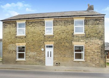 Thumbnail 2 bed flat for sale in March Road, Coates, Peterborough