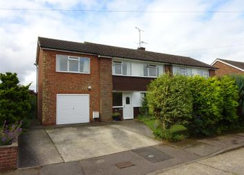 Thumbnail 4 bed semi-detached house for sale in Quantock Close, Rushmere St. Andrew, Ipswich