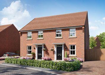 "Thumbnail 3 bed semi-detached house for sale in ""Ashurst"" at Grange Road, Tongham, Farnham"