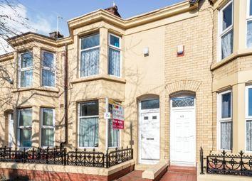 Thumbnail 3 bed terraced house for sale in Edinburgh Road, Kensington, Liverpool