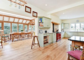 Thumbnail 5 bed detached house to rent in Broughton, Stockbridge, Hampshire