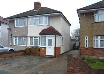Thumbnail 3 bed semi-detached house to rent in Northumberland Crescent, Feltham