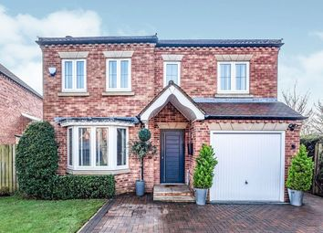 Thumbnail 4 bed detached house for sale in St. Quintin Field, Nafferton, Driffield