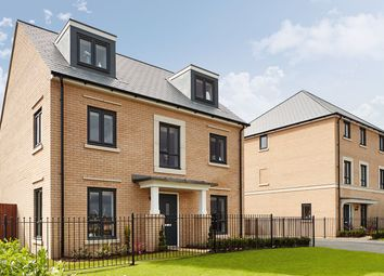 "Thumbnail 5 bedroom detached house for sale in ""The Fordham"" at Radwinter Road, Saffron Walden, Essex, Saffron Walden"