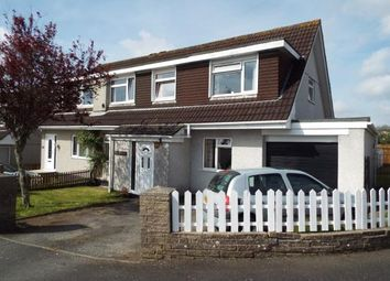 Thumbnail 4 bed semi-detached house for sale in St Austell, Cornwall, Uk