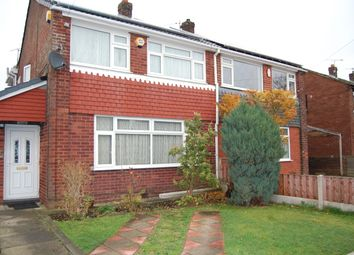 Thumbnail 4 bedroom semi-detached house to rent in Chatsworth Grove, Little Lever, Bolton