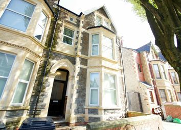 Thumbnail 2 bedroom flat to rent in Connaught Road, Roath, Cardiff
