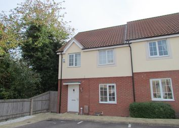 Thumbnail 3 bed semi-detached house to rent in Heron Way, Dovercourt, Harwich